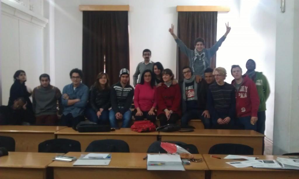 Simona Cavalu's students